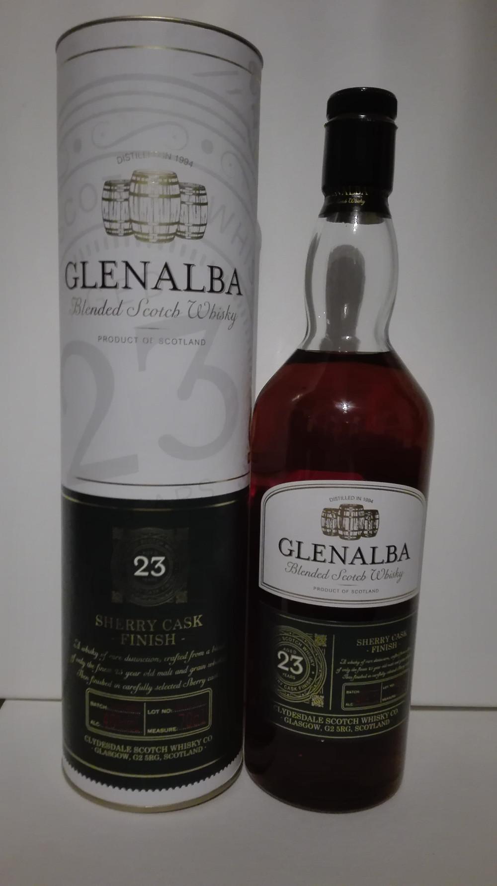 Glenalba, Glenalba 23, Glenalba 37, Lidl, Whisky, Blend, Tasting, Test