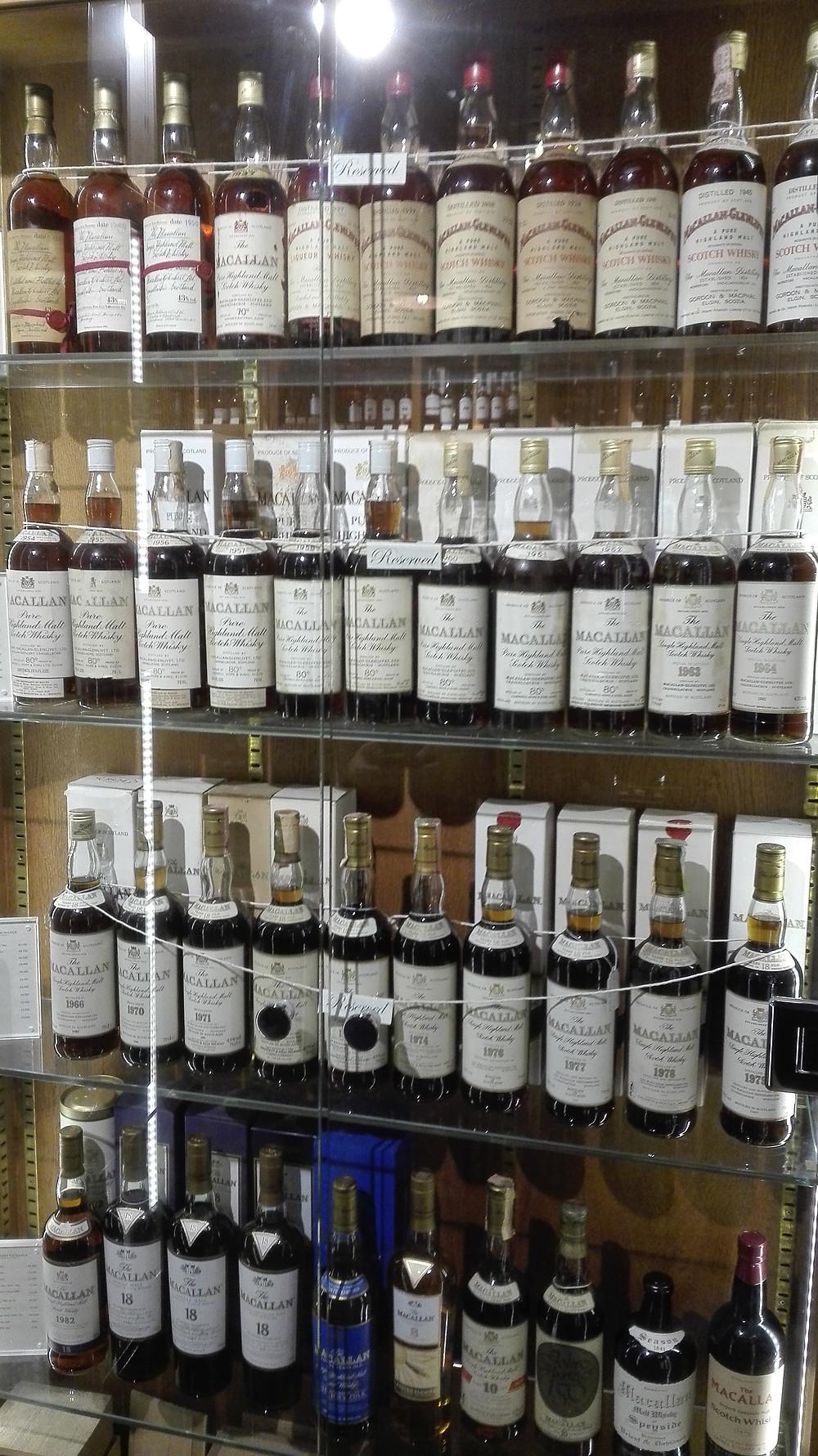 Glen Scotia 15, The Whisky Exchange, London, Tasting, Macallan