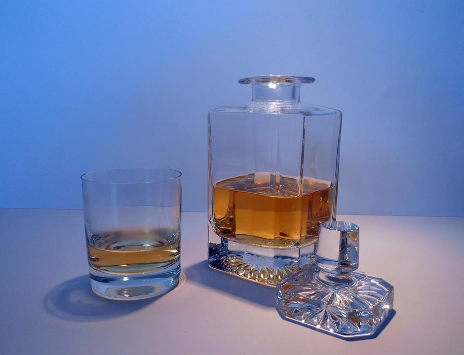 Infinity-Bottle, Blend, Whisky, Karaffe, selbst blenden