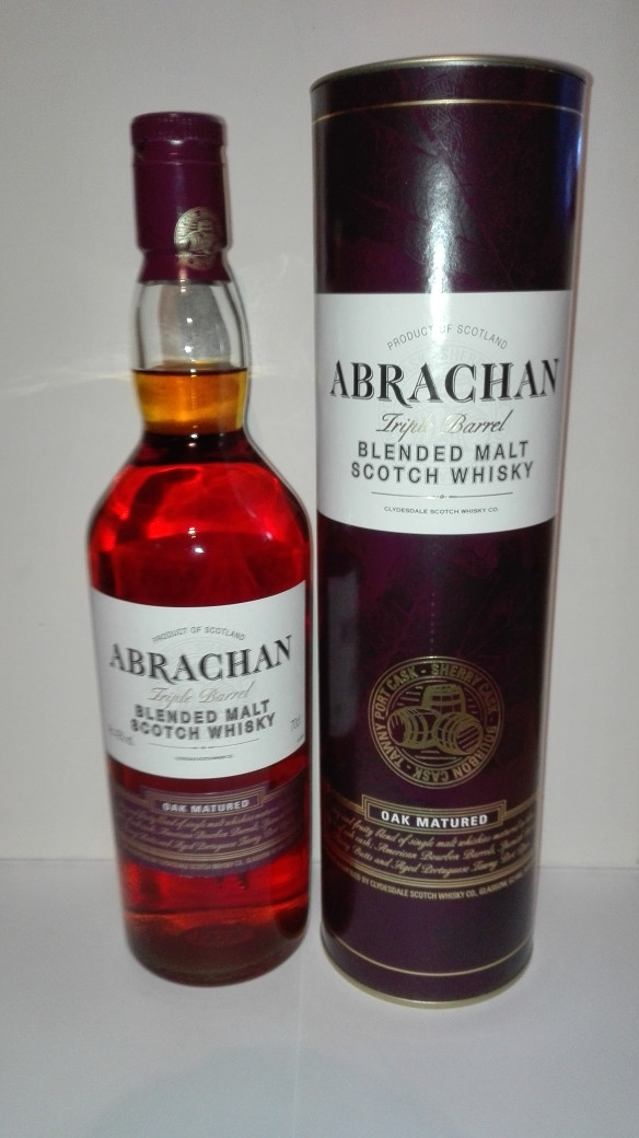 Abrachan Triple Barrel, Tasting, Test