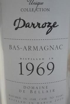 Der Prinz von Bellair: Tasting Armagnac Darroze 1969