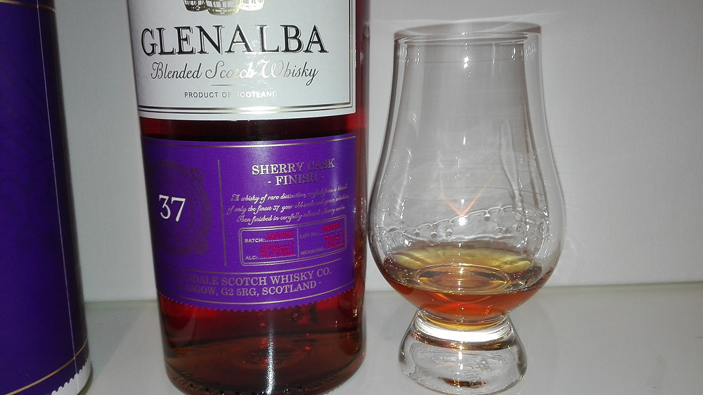 Glenalba 37, Lidl Whisky, Blen Lidl Blend, Tasting, Test, Notes, Glenalba