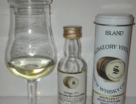 Highland Park 24yrs 1977-2001 von Signatory Vintage Tasting