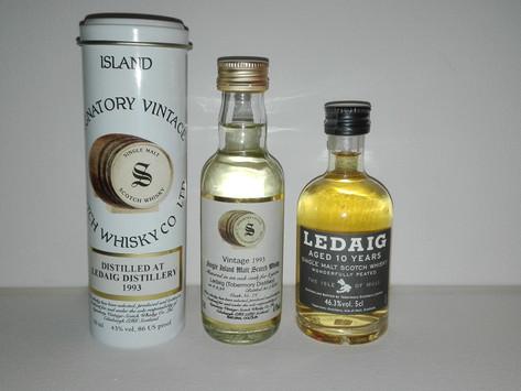 Ledaig 10 vs Ledaig 1993 Signatory Vintage Tasting