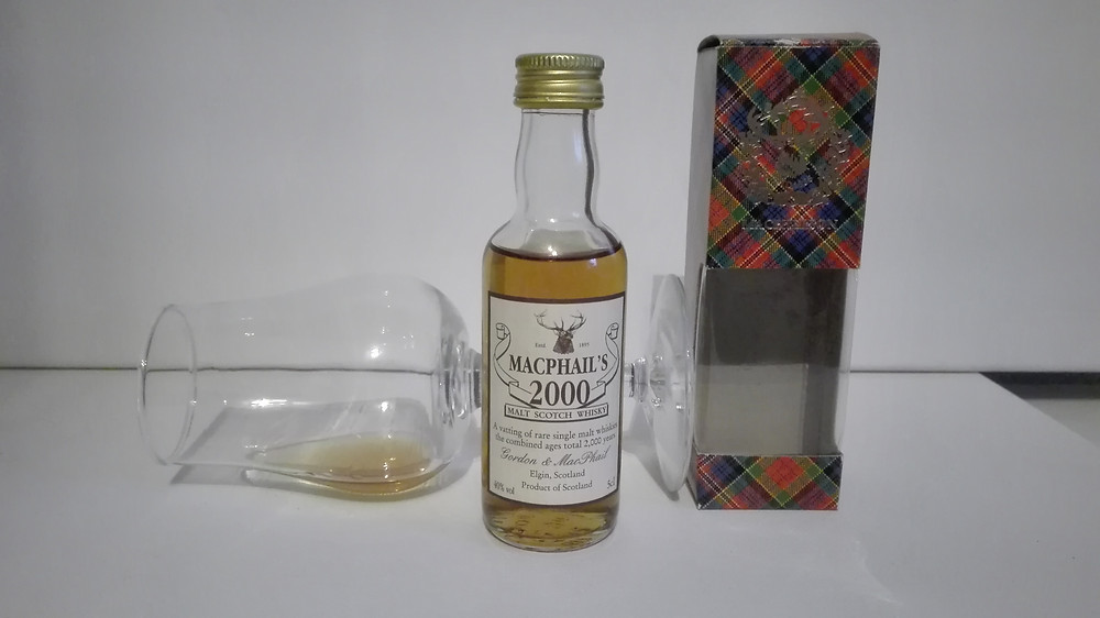 Gordon&MacPhail, MacPhails 2000, Millenium Vatting, Tasting, Test