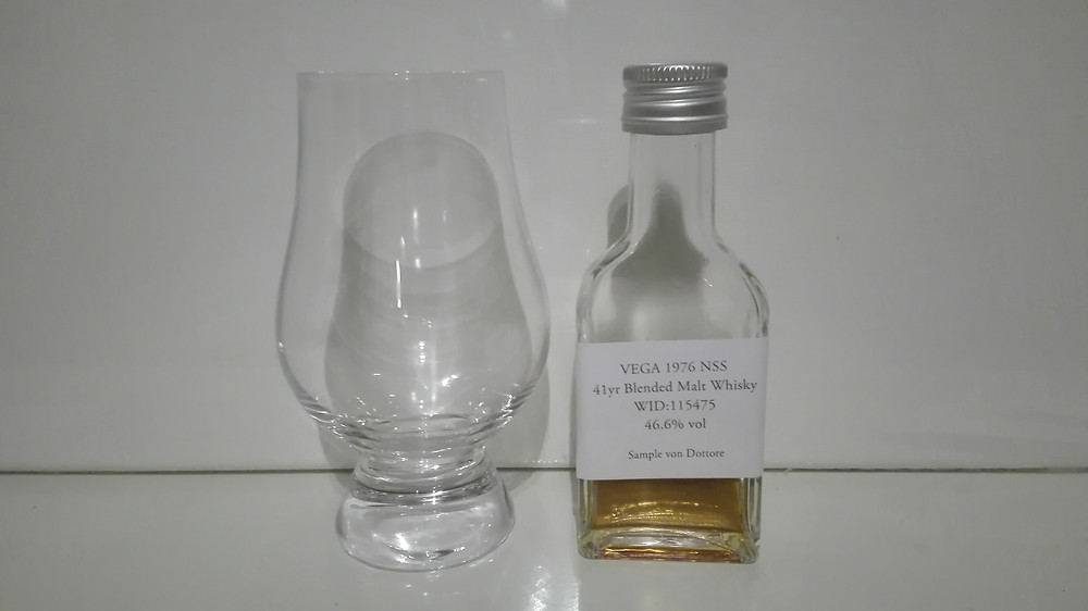 VEGA, Vega 1976 NSS, North Star Spirit, Blend, Blended Malt Whisky, Fassstark, 41 Jahre, Tasting, Test