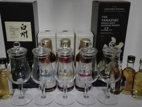 Japan-Tasting mit Yamazaki 12, Hakushu 12 und mehr