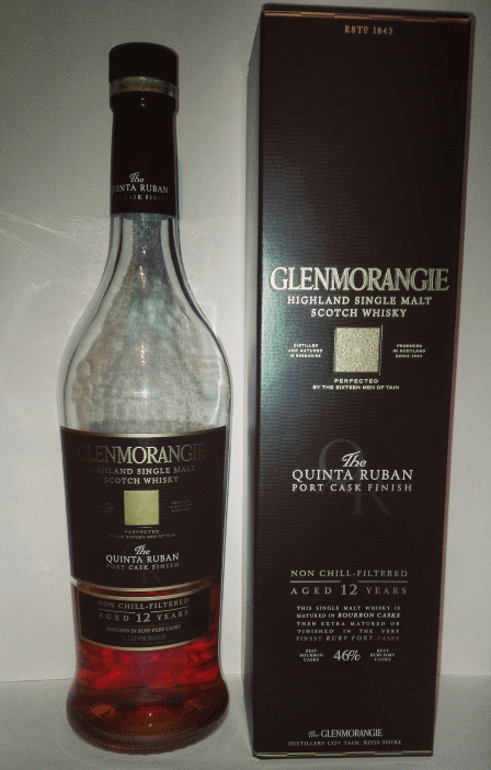 Glenmorangie Quinta Ruban, Port Finish, 12 years.