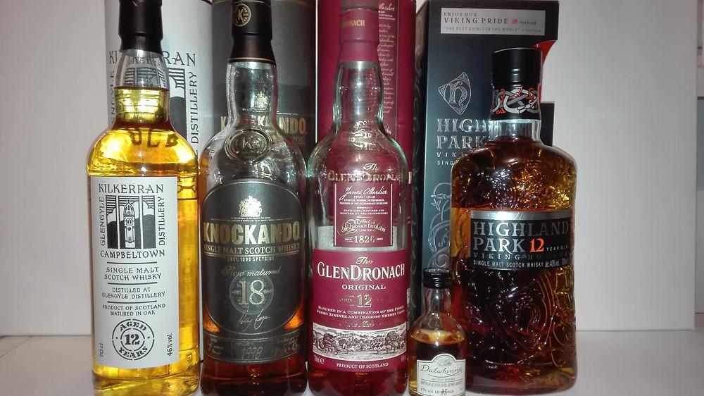 Whisky, Einsteiger Wissen, Anfänger, Highland Park 12, Glendronach 12, Knockando 18, Gastbeitrag, kleinstadtheld.de