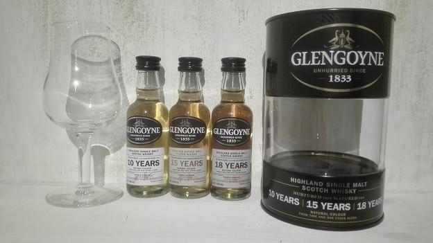 Glengoyne, Triple Pack, glengoyne 10, Glengoyne 15, Glengoyne 18, Tasting, Verkostung, Glengoyne Core Range