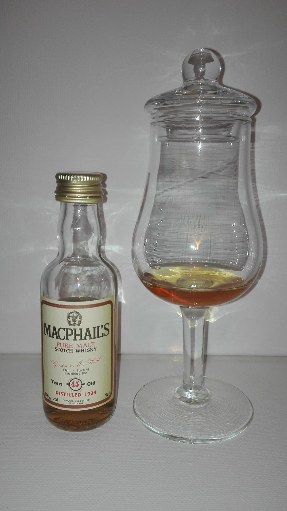 Gordon&Macphail, Macphail´s 1938, 45 years, Whisky, distilled 1938