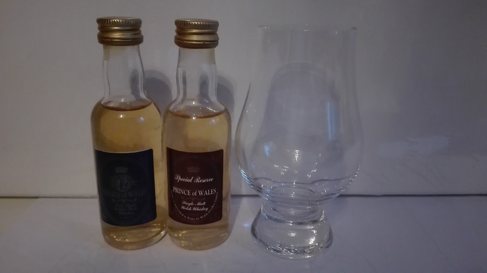 Prince of Wales, Welsh Whisky, Blend, Penderyn, Wales, alter Blend