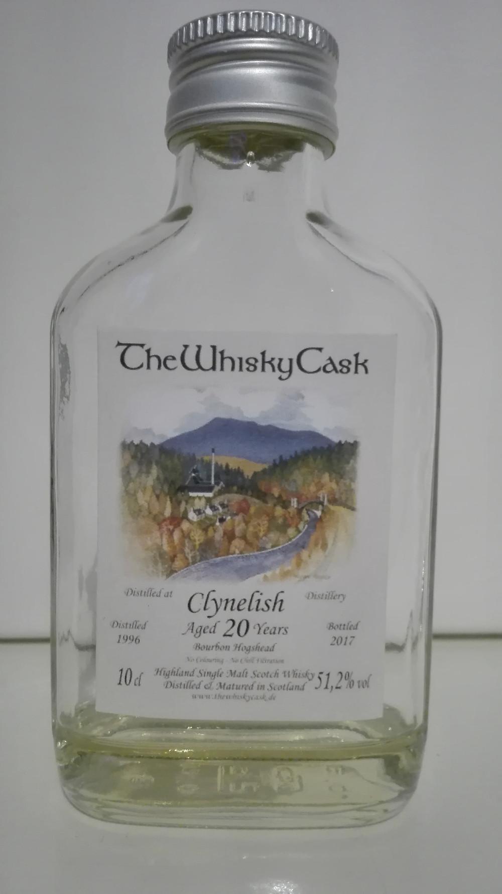 Clynelish 20 Jahre, 20 yrs, fassstark, The Whisky Cask, TWC, Clynelish 1996, Clynelish 2017