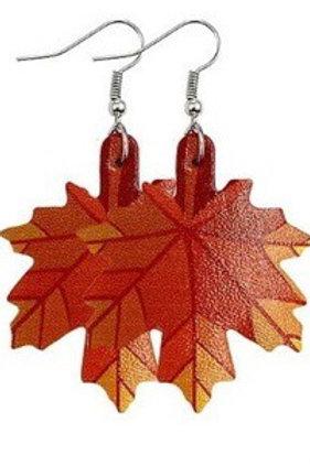 Fall Leaf Earrings