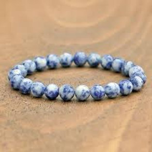 Blue Jasper Stone Bracelet