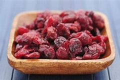 Dried Cranberries - 2 scoops