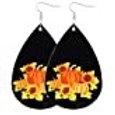 Black Fall Earrings