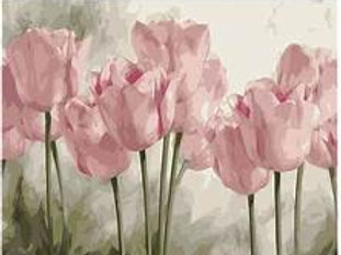 Paint By Number - Pink Tulip