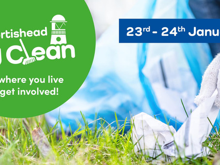 Portishead's 1st Big Clean of 2021!