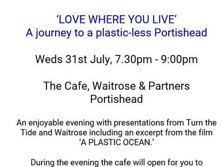 LOVE WHERE YOU LIVE - A journey to a plastic-less Portishead