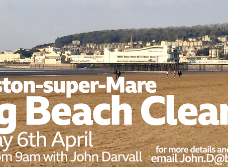 BBC Radio Bristol - Weston Super Mare Beach Clean