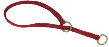 Resco Braided Choke Collar, Red