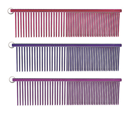 Pet combs for dematting