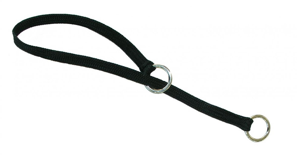 Resco Braided Choke Collar, Black