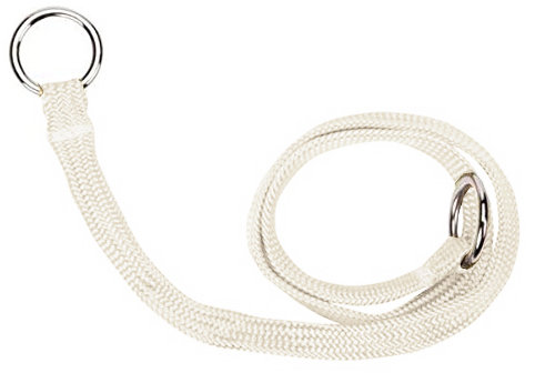 Resco Braided Choke Collar, White