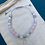 Thumbnail: Rose Quartz Love Mala Bracelet with Sterling Silver Feather Charm
