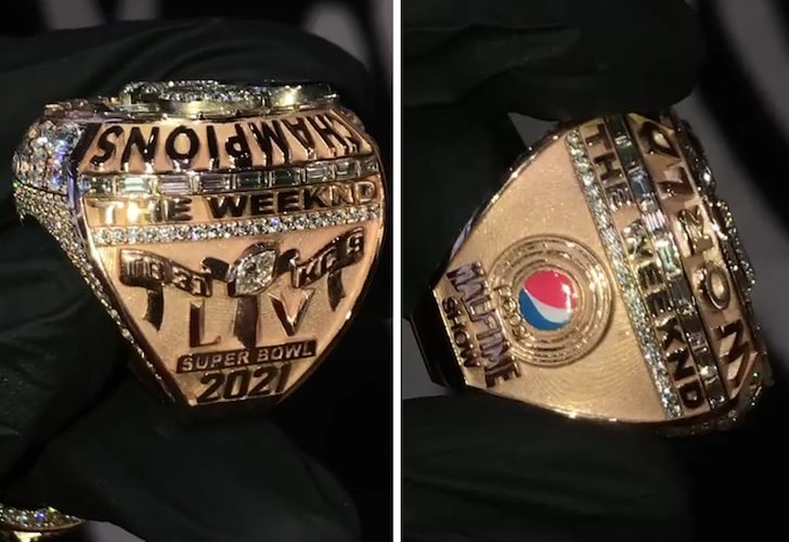 The Weeknd gets a Super Bowl LV ring