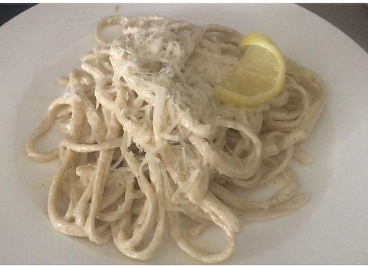 Lemon Pasta Recipe with some fun Italian stories