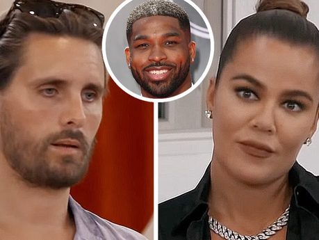 Khloe Kardashian blames Scott Disick for people knowing she was back with ex Tristan