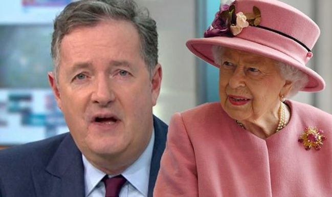 """Piers Morgan says it's """"heartbreakingly sad"""" to see the Queen sit by herself at Philip's funeral"""