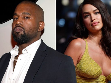 Kanye West likes where things are headed with Irina Shayk