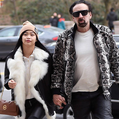 Nicolas Cage Is A Married Man For The 5th Time   Nicolas Cage Weds 31 Year Younger Riko Shibata