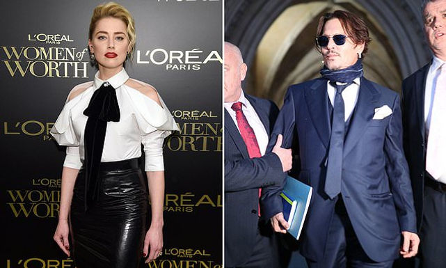 Johnny Depp's lawyers refute 'wife beater' claims in libel case as Amber did not donate the full £1m