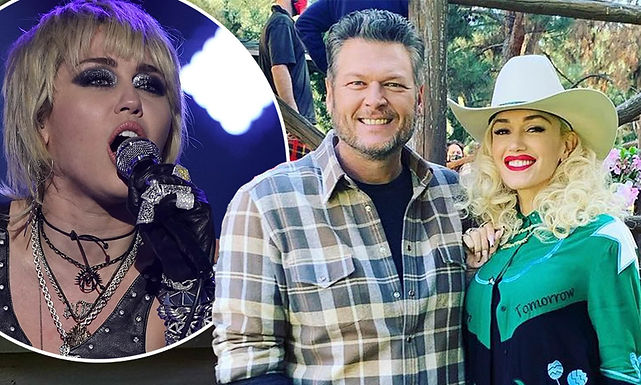 Miley Cyrus offers to be the wedding singer at Gwen Stefani and Blake Shelton's Wedding