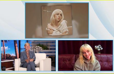 Billie Eilish explains what inspired her to go blonde