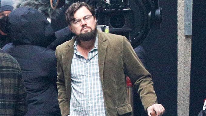 Leonardo DiCaprio Looks Unrecognizable With Bushy Beard   Leonardo DiCaprio's New Look