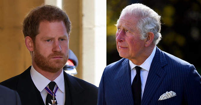Should Harry apologise during walk with Prince Charles is a question many are asking