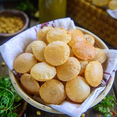 World Food Exclusive: Easy Golgappa / Pani Puri Recipe