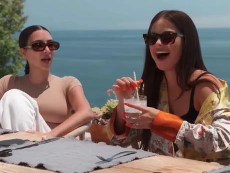 Kim Kardashian questions whether Kourtney Kardashian was in a relationship with Addison Rae