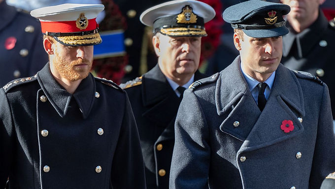 Queen forgoes requirement to wear navy uniform at Philip's funeral to help Harry and Andrew