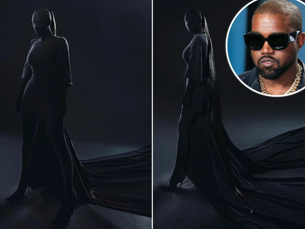 Kanye West supports Kim's outfit choice for Met Gala