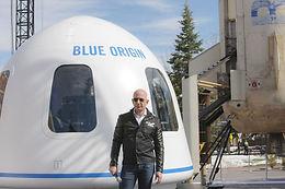 Jeff Bezos all set to go into space
