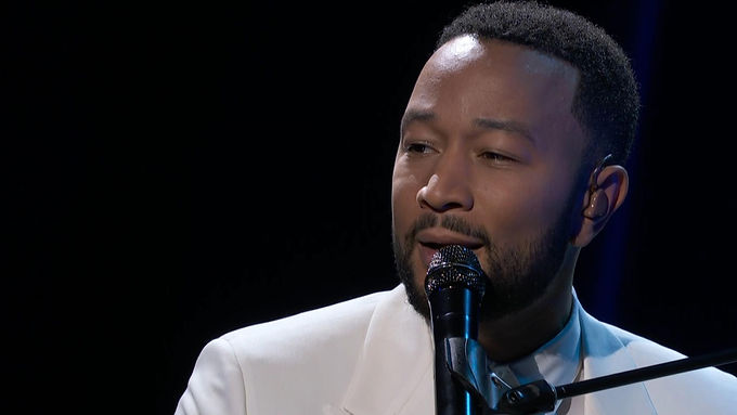 "John Legend Sings ""Never Break"" , Dedicating It To Wife Chrissy Teigen After Pregnancy Loss"