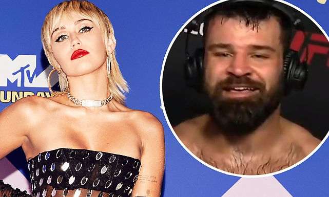 Miley Cyrus wanted to be MMA fighter Julian Marquez's valentines on one condition