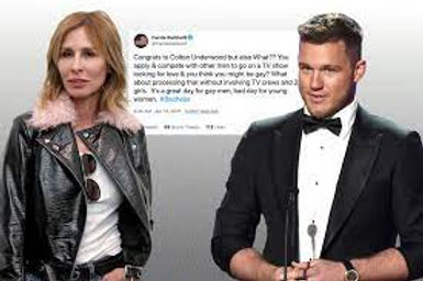"Carole Radziwill slams ""Bachelor"" Colton Underwood for going on the show, then coming out as gay"