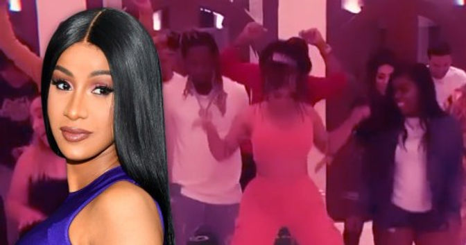 Cardi B ignores lockdown rules then shows off her privilege and brags about access to COVID testing